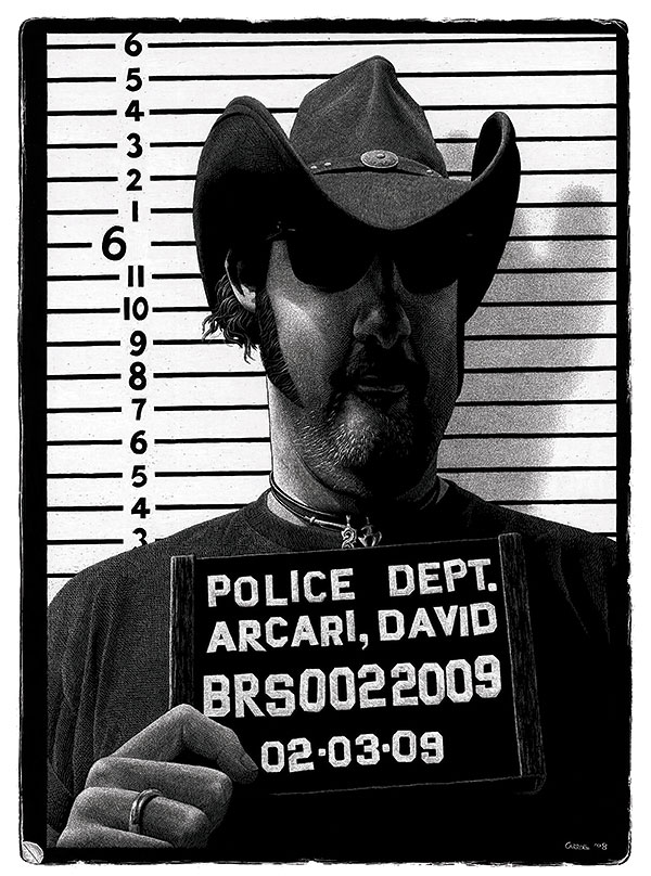 Dave Arcari by Steve Carroll