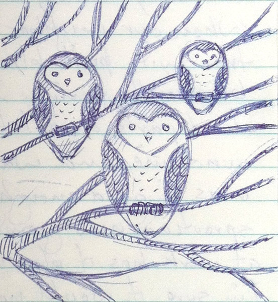 owls-rough-sketch